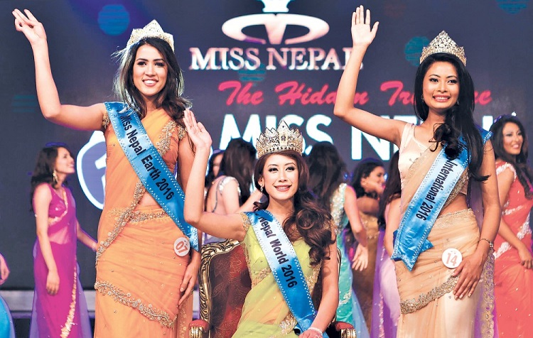 Asmee Shrestha Miss Nepal 2016