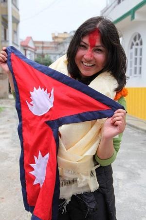 nisha climbs Everest
